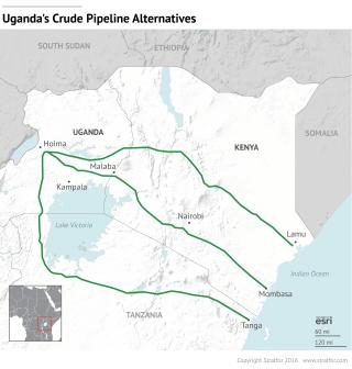 Rivalries in East African Pipeline Negotiations Favor Uganda