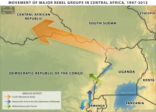 Movement of Armed Groups in Uganda and the Congo
