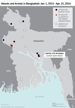 The Islamic State Seeks to Expand Its Reach in Bangladesh