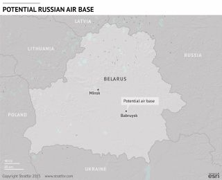 The Significance of a Russian Air Base in Belarus
