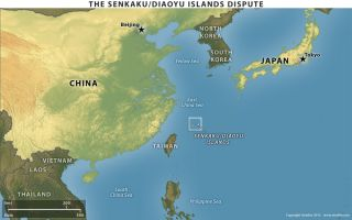 Protests in China over Disputed Islands
