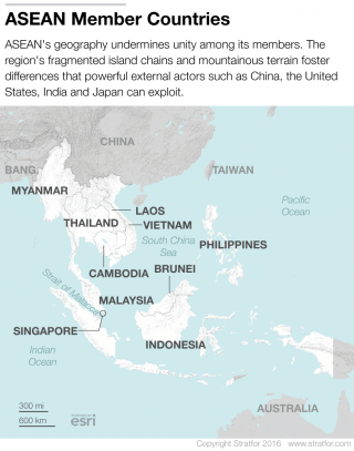 Geography Stymies Southeast Asian Integration