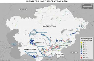 Irrigation in Central Asia