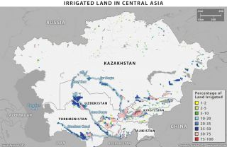 Tensions Over Water Resources in Central Asia
