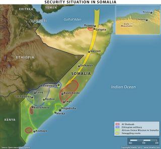 Al Shabaab's Activity in Somalia