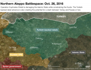 Tracking Turkey's Advance in Syria