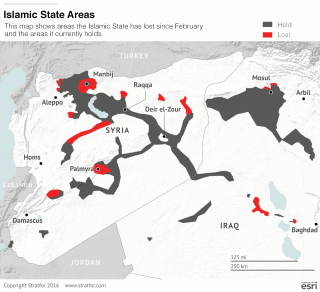 The Islamic State Loses Ground in Syria