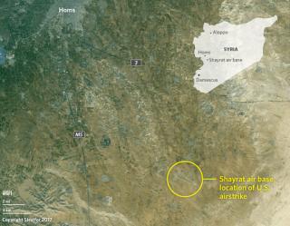 U.S. Missile Strikes on Shayrat Air Base
