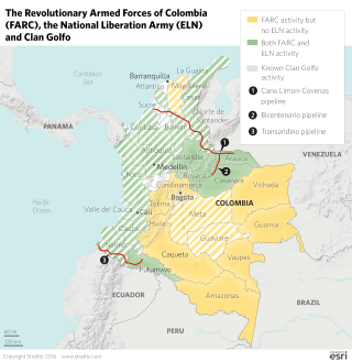 Can Colombia Protect Its Oil Infrastructure?
