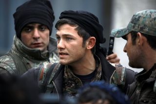 SDF members in Manbij in March of last year.