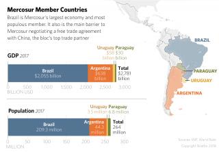 Graphic: Mercosur Member Countries