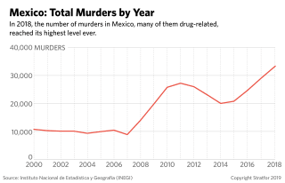 Mexico's Annual Murder Rate