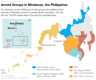 In Mindanao, conflict has fueled piracy and organized crime and sowed the seeds for the rise of jihadist groups such as Abu Sayyaf.