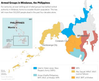 For centuries, an ever-shifting set of rebel groups has battled central authority on the southern Philippine island of Mindanao.