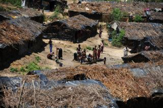 Rohingya refugees have been present in Bangladesh for decades. This September 2009 photo shows an unregistered camp 400 kilometers (248 miles) southeast of Dhaka.
