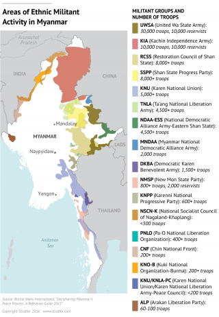The Path To Peace in Myanmar Bends Toward China