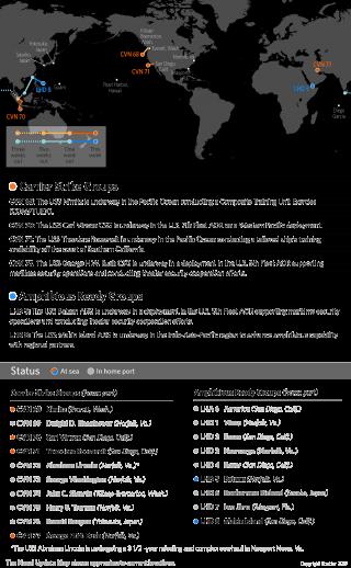 U.S. Naval Update Map April 20