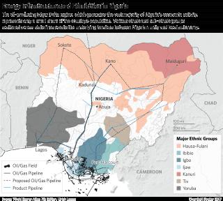 Energy Infrastructure and Ethnicities in Nigeria