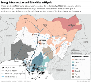 While conflict in the region has ebbed and flowed over the years, attacks on oil and gas infrastructure in the Niger Delta have remained mostly subdued over the course of 2017.