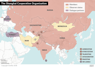 The Shanghai Cooperation Organization