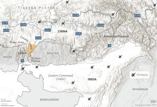 Arunachal Pradesh, Sikkim and Doklam