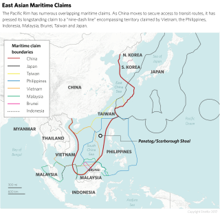 Overlapping Territorial Claims in Asia-Pacific