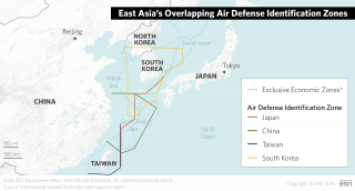 China's newly developed maritime capabilities have translated into aggressive posturing across the East and South China seas, and Beijing has made a number of provocative moves regarding airspace restrictions and contested islands. Japan's new charter allows for closer military cooperation with other nations.