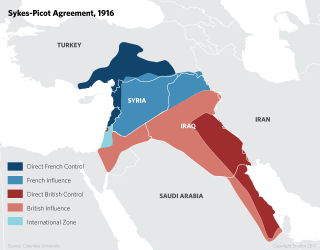 In 1916, the Middle East was a very different web of power and influence than it is today. Beginning in 1915, with the Sykes-Picot agreement, France and Britain argued over who should administer Jordan, Lebanon, Syria, Iraq, Mandate Palestine and several Arabian Gulf countries.