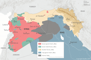 The Iraq-Syria Battlespace