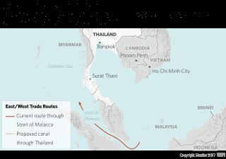 A span, a plan, a canal: Thailand