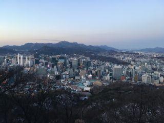 A view of South Korea's capital city, Seoul.