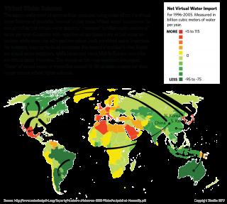 Virtual Water Balance