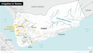 As Yemen's population continues to grow, municipal demand for water will also increase. Water supplies will also continue to be lost due to dilapidated infrastructure and inefficient irrigation systems.