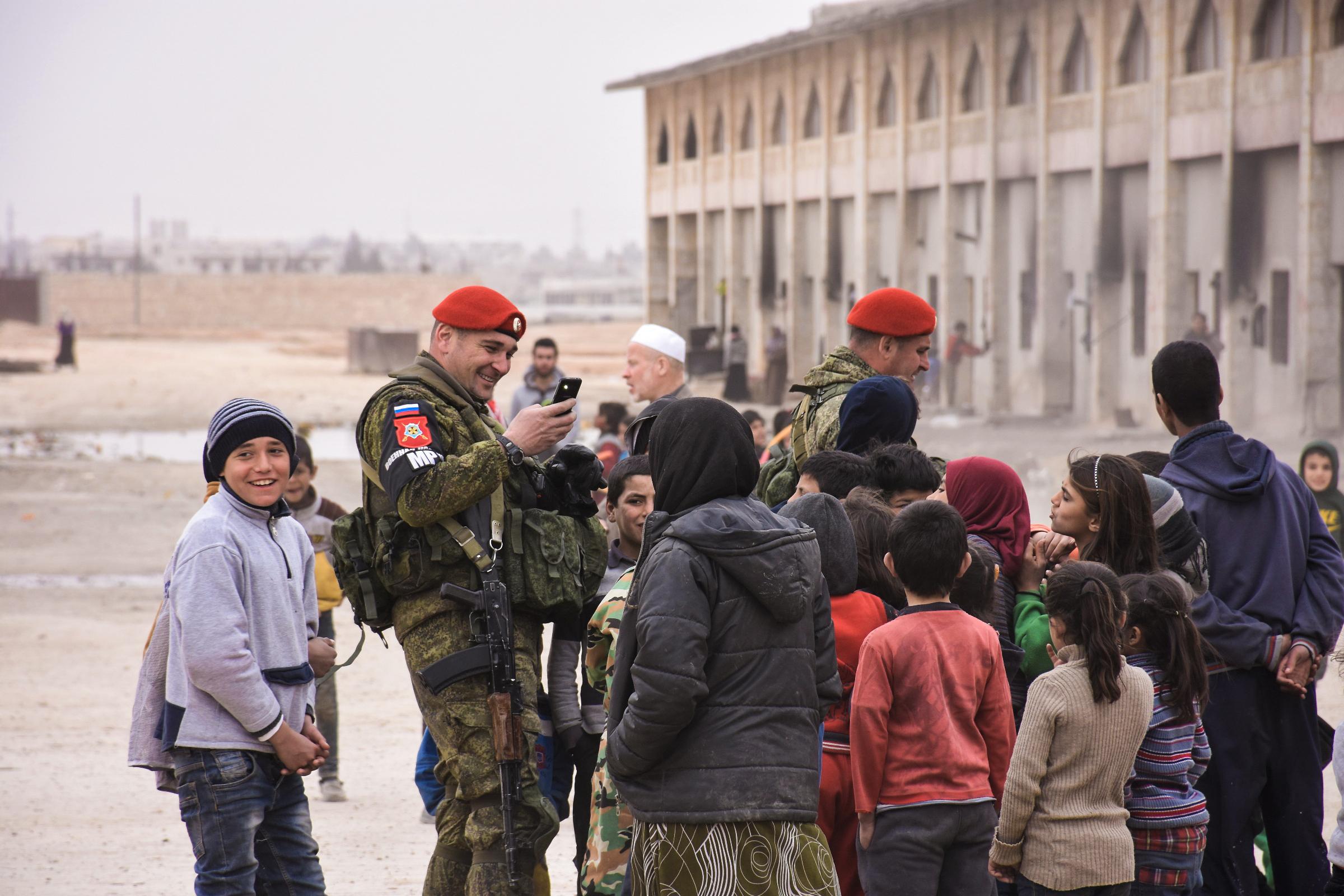 Syrien Russen